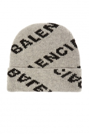 Wool hat with logo od Balenciaga