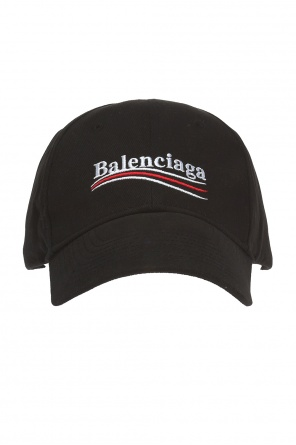Baseball cap with embroidered logo od Balenciaga