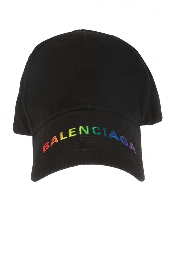 735ea1ddcccde Logo-embroidered baseball cap Balenciaga - Vitkac shop online