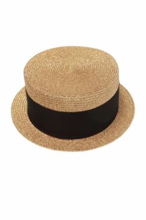 ff841ac0b7afe ... Hat with grosgrain band od Saint Laurent