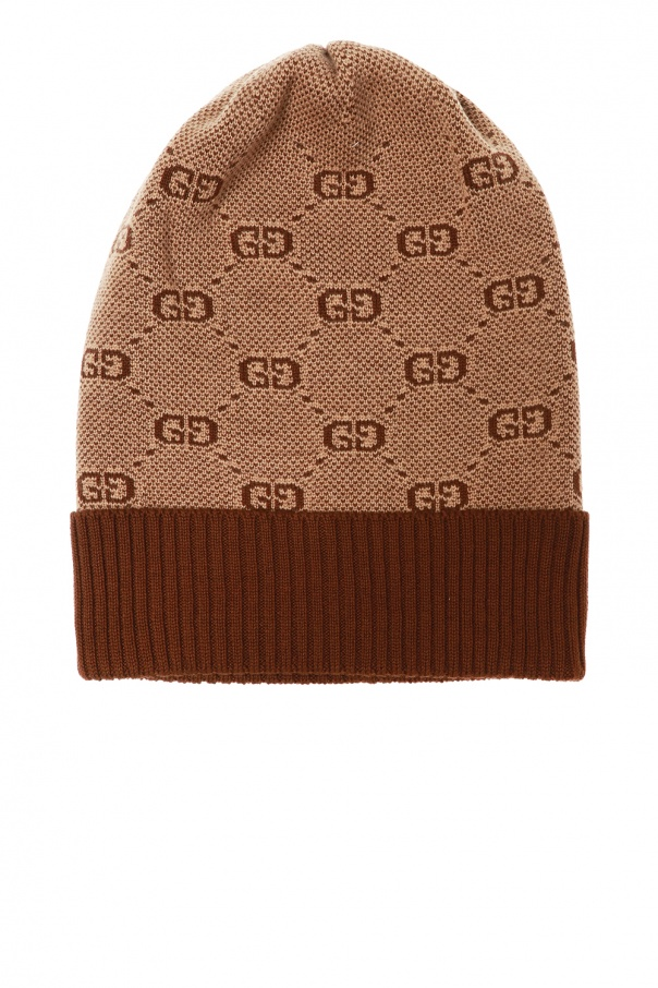 Gucci Kids Logo-embroidered hat