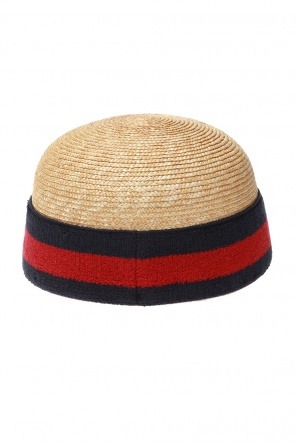 'web' stripe baseball cap od Gucci
