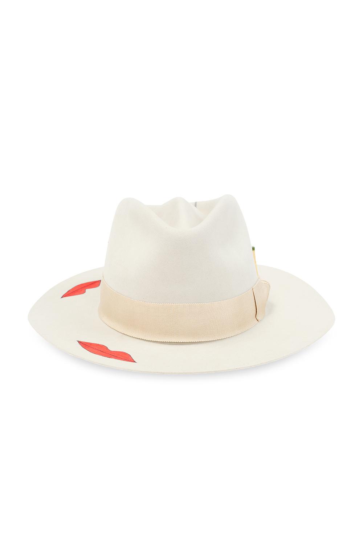 Nick Fouquet 'Smoke Show' printed hat