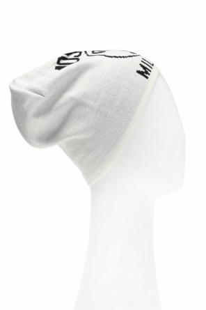 Logo-embroidered hat od Moschino