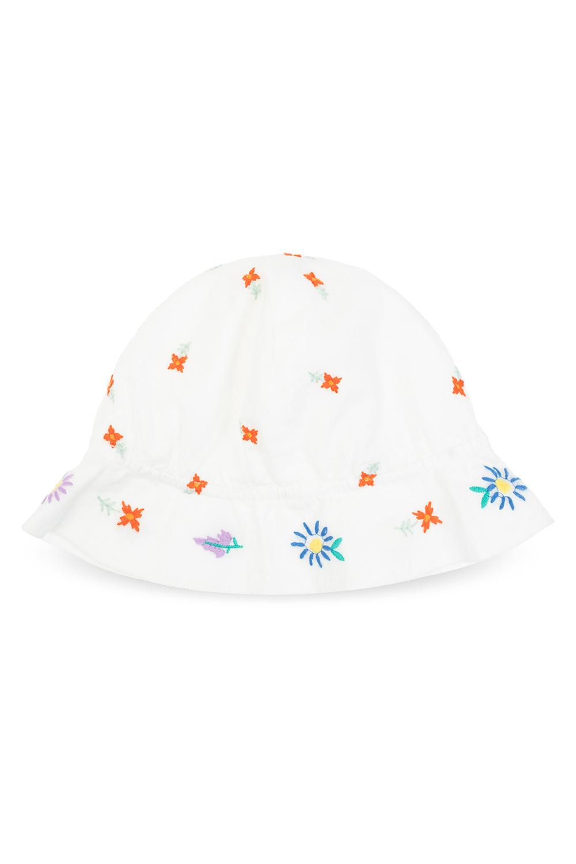 Stella McCartney Kids 花卉渔夫帽