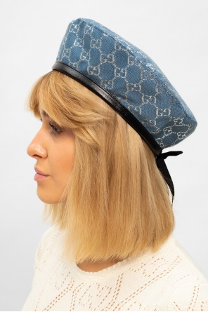 Beret with logo od Gucci