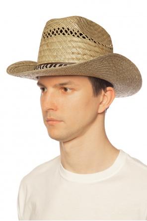 Słomiany kapelusz od Saint Laurent