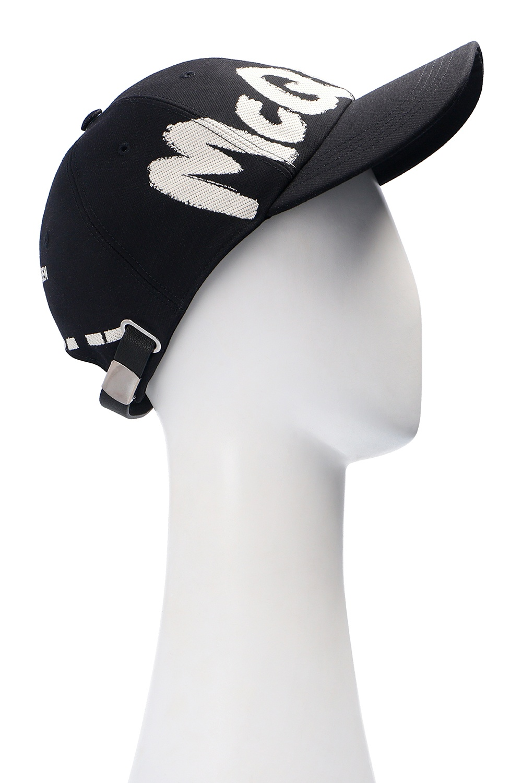 Alexander McQueen Branded baseball cap