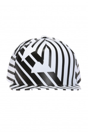 Striped cap od Emporio Armani