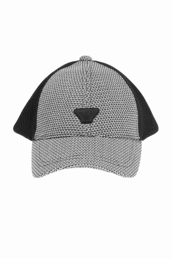 Patterned baseball cap od Emporio Armani