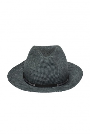 ddc66225320b6 ... Braided hat with logo od Emporio Armani