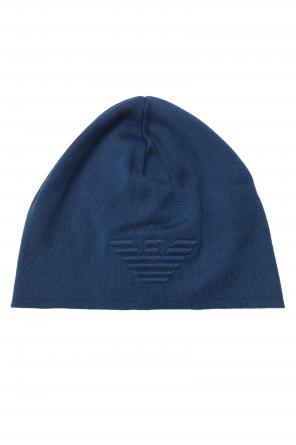 Cotton logo hat od Emporio Armani