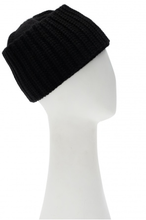 Knitted hat with logo od Saint Laurent