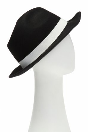 Branded hat with band od Emporio Armani