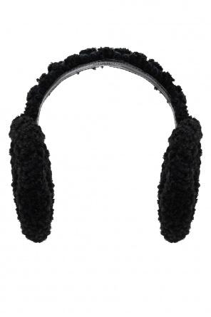 Branded ear muffs od Gucci