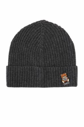 Teddy bear pin hat od Moschino