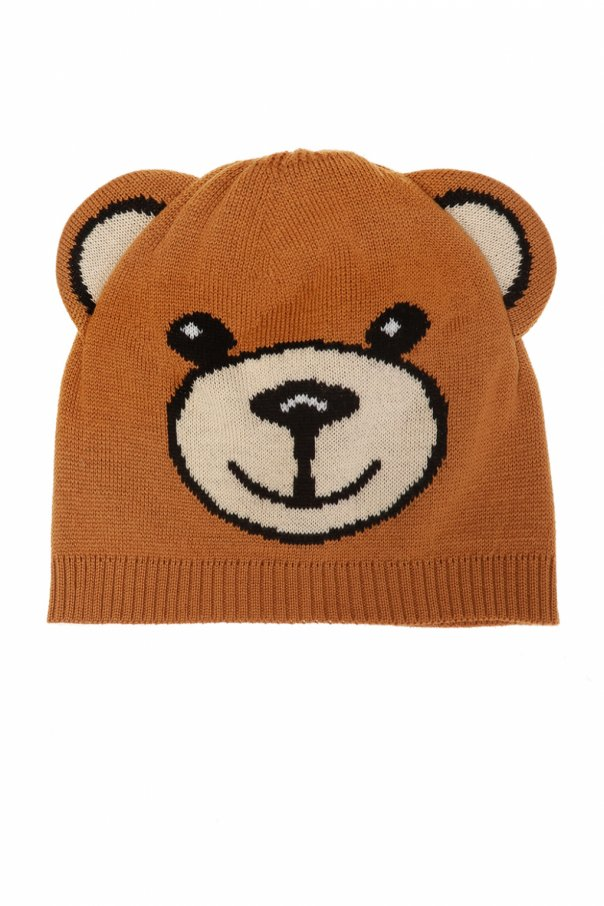 Moschino Kids Embroidered hat