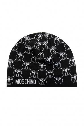Hat with logo od Moschino