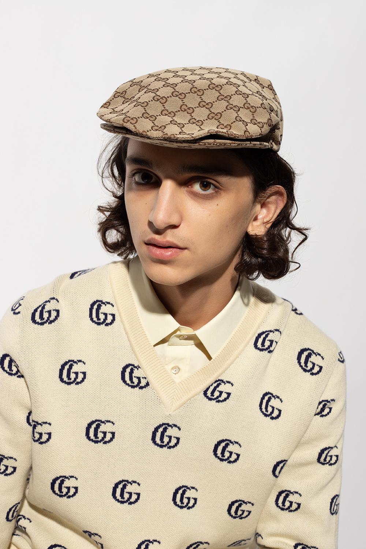 Gucci Kaszkiet z monogramem