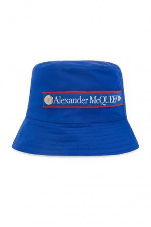 Logo-embroidered hat od Alexander McQueen