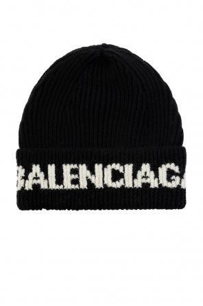 Beanie with logo od Balenciaga
