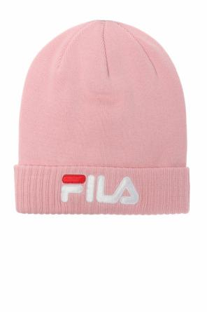 Logo-embroidered hat od Fila