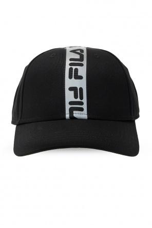Baseball cap with reflective logo od Fila