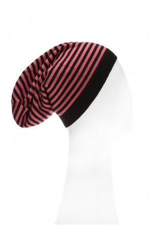 Hat with embroidered striped pattern od Emporio Armani