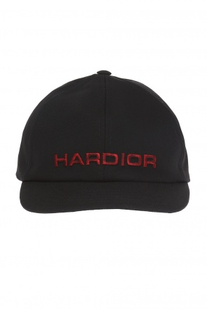 Baseball cap with decorative lettering od Dior