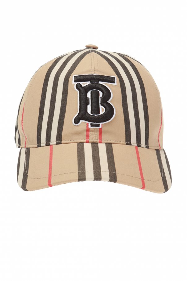ef2687eb5dc Logo-embroidered baseball cap Burberry - Vitkac shop online