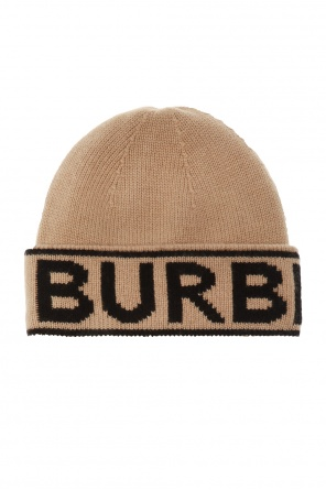 Logo-embroidered hat od Burberry
