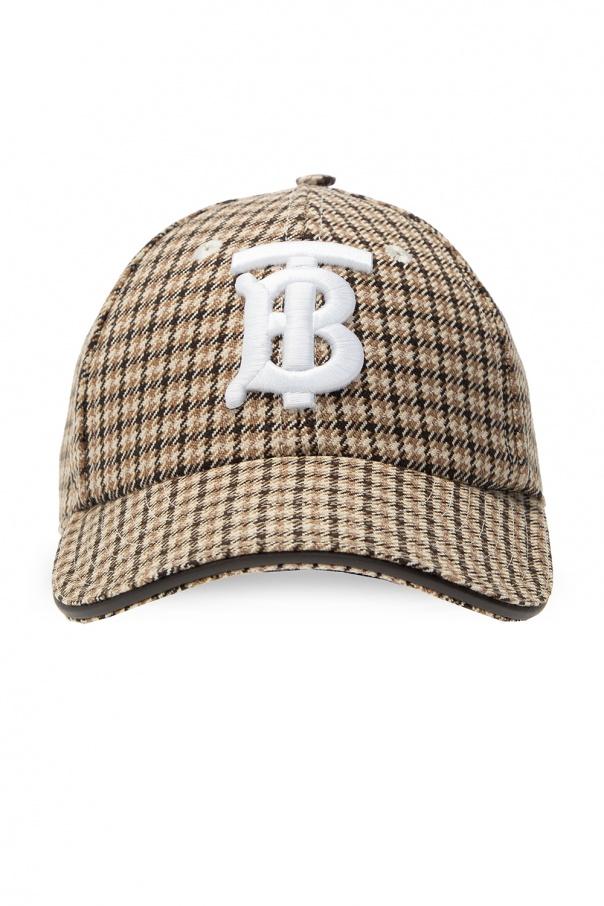 Burberry Patterned baseball cap