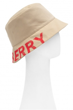 Hat with logo od Burberry