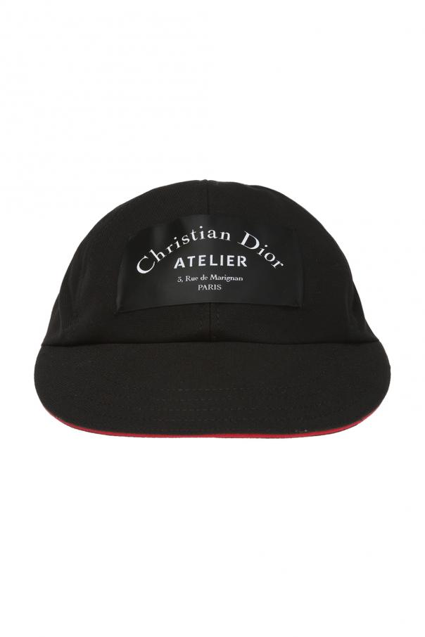 Patched baseball cap Dior - Vitkac shop online 5faac72cc16
