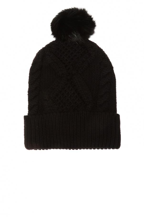 Wool hat with pompom od Philipp Plein