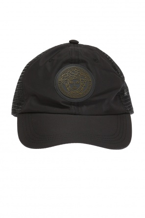 Baseball cap with rubber patch od Versace