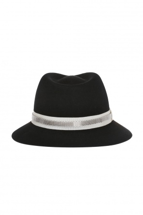 Hat with grosgrain band od Lanvin
