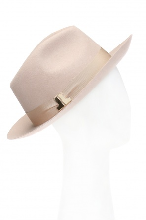 Hat with rep strap od Lanvin