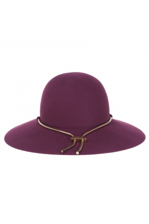 Gold-tone chain hat od Lanvin