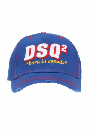 Cap with embroidered logo od Dsquared2