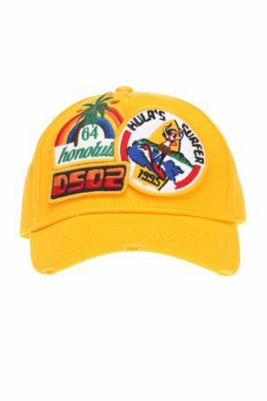 Cap with patches od Dsquared2