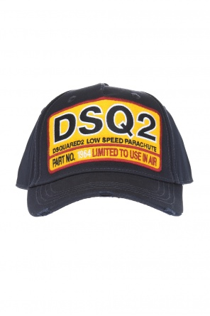 Baseball cap with  embroidered logo od Dsquared2