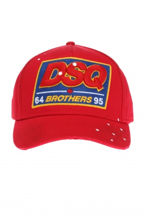 Logo-stitched baseball cap od Dsquared2