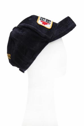 Baseball cap with a patch od Dsquared2