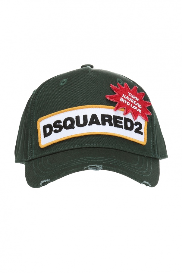560d48f8 baseball cap with embroidered logo Dsquared2 - Vitkac shop online