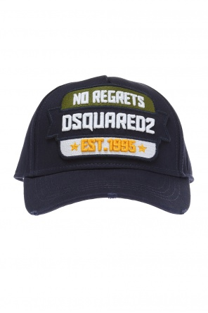 Embroidered baseball cap od Dsquared2