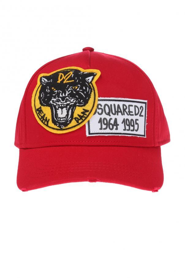 cfd0584fb6e Patched baseball cap Dsquared2 - Vitkac shop online