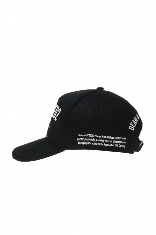 'exclusive for vitkac' limited collection basketball cap od Dsquared2