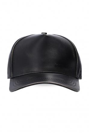 Leather baseball cap od Dsquared2