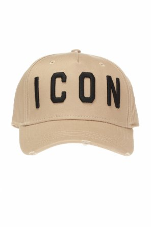 Baseball cap with lettering od Dsquared2
